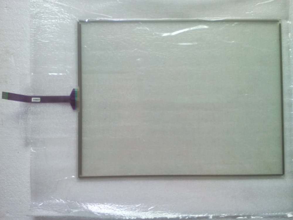 New Original for 15 inch GT GUNZE U.S.P. 4.484.038 G-34 8 Wires Touch Screen Digitizer Panel Glass