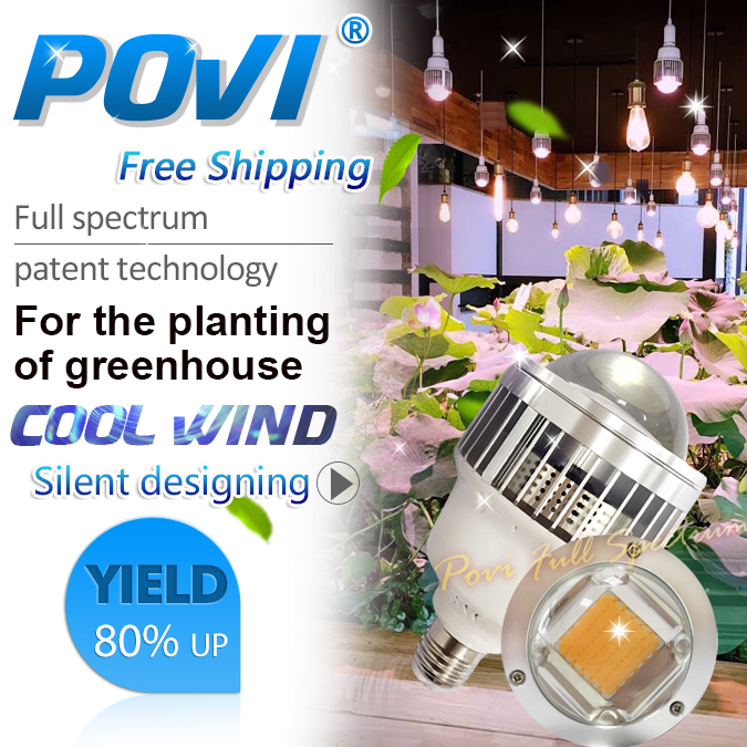 POVI 30w 50w LED grow Lamp True Full Spectrum Led Hydroponics Grow Light for Flower Plant,Herbs,Vegetable/greenhouse(China (Mainland))