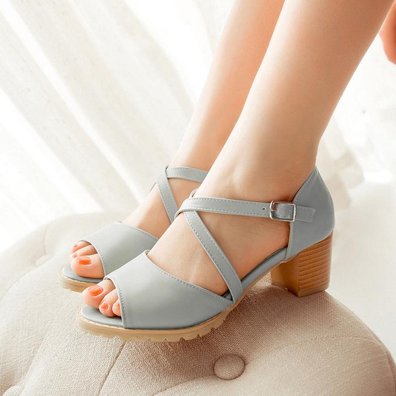 2014 new lady high heel sandals summer Waterproof units bowknot Fashion women's shoes - Pink beautiful Girl store