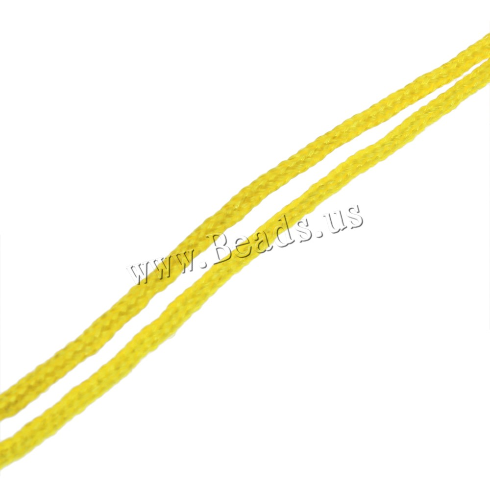 Free shipping 10Strands/Bag 1.5mm yellow Waxed Nylon Cord Clearance Jewelry Supplies(China (Mainland))