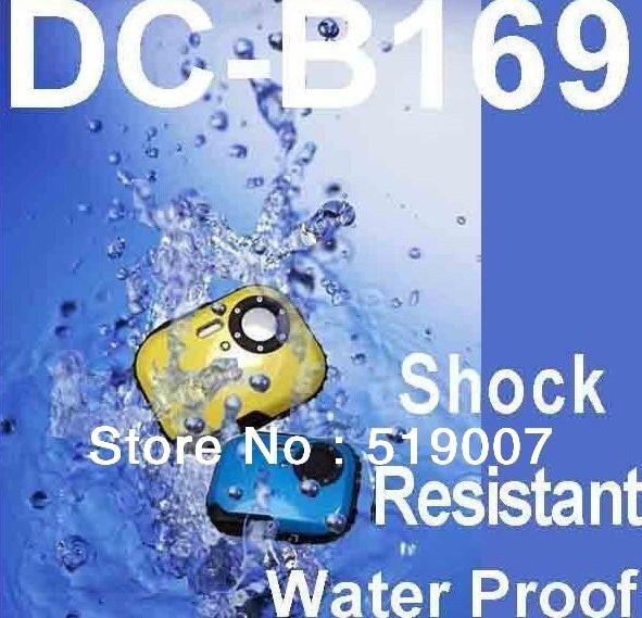 "Free shipping,cheap Mini waterproof digital still camera 3.0 MP CMOS under water camera,1.8"" TFT LCD ,underwater camera"
