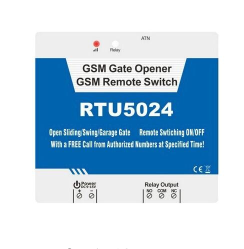 RTU5024 gsm relay switch controller Up to 200 authorized ,Door opener(China (Mainland))