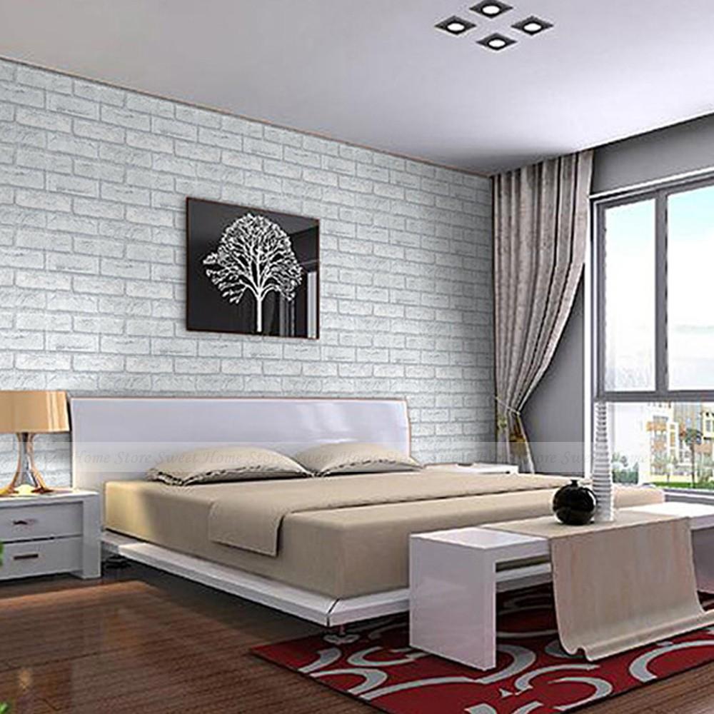 Promoci n de pared de ladrillo dormitorio compra pared for Papel mural para dormitorio