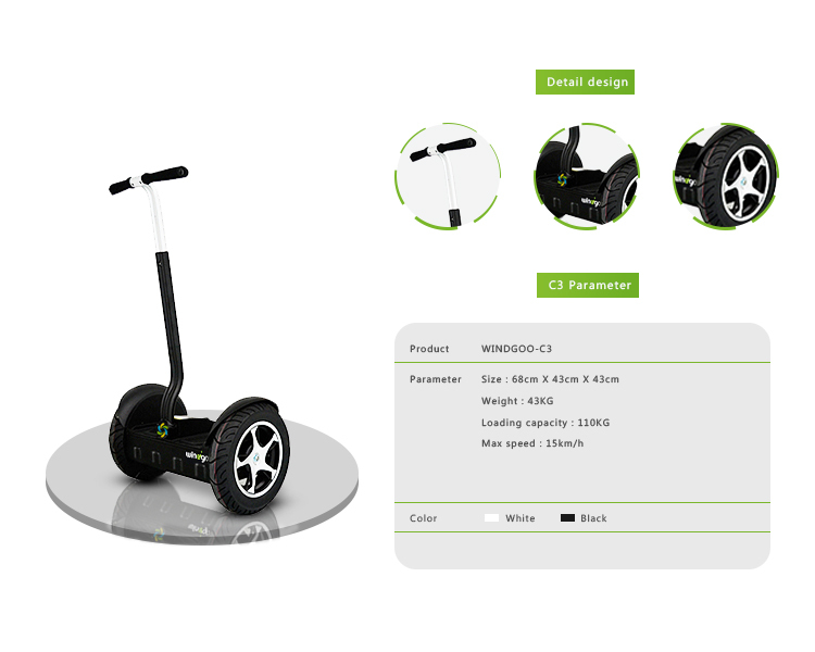 Golf Course Renting 2 Wheel Stand up Easy Control Aluminum Electric Scooter Free to UK(China (Mainland))
