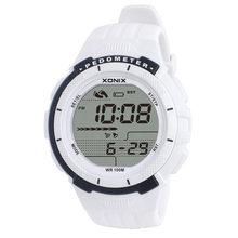 Hot!!XONIX Pedometer Calories Women Sports Watches Waterproof 100m Digital Watch Running Swimming Diving Wristwatch Montre Femme