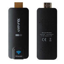 1080P Measy A2W Chromecast Miracast DLNA Airplay WiFi HDMI Multi-media TV Stick Dongle for Smartphone Tablet PC Laptop(China (Mainland))