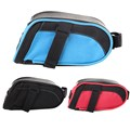 Cycling Saddle Bag Bicycle Seat Pouch Storage Bike Rear Tail Waterproof Red Blue Black Bag
