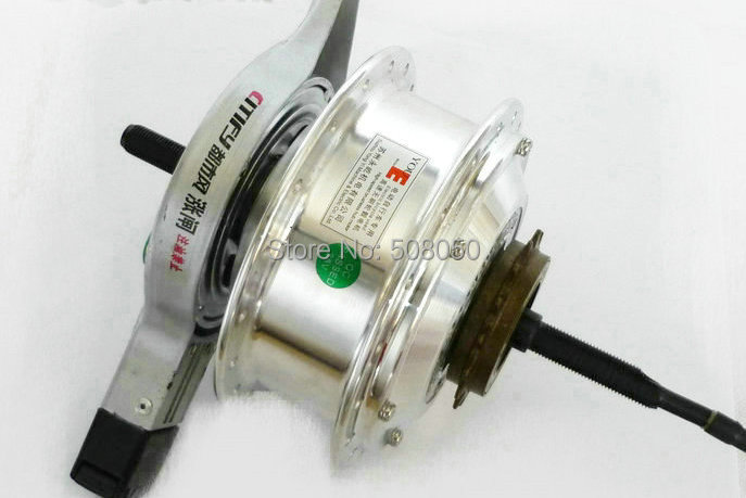bicycle mtb DIY ebike motor scooter conversion parts power saving bruthless geared hub motor rear wheel especial for diy use(China (Mainland))