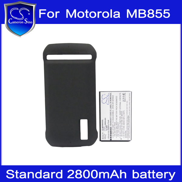 2800mAh Extended Rechargeable Mobile Phone Battery + Back Cover for Motorola Photon 4G MB855 MB835 HK Brand Cameron Sino(China (Mainland))