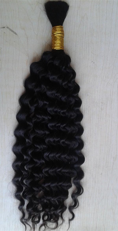 Grade 7A Brazilian Curly Bulk Braiding Hair 100 Human Hair Braids Bulk Curly No Weft Braiding Hair Curly Bulk Human Hair