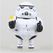 Five star animation genuine WOLVES WORLD Star Wars Bai Bing fat white knight Figurine model