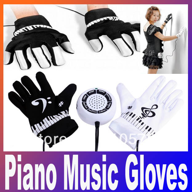 High-quality With Cheap Price New Electronic Piano Hand Gloves Exercise Keyboard Music Toys Free Shipping + Drop Shipping(China (Mainland))
