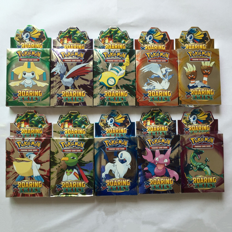 Гаджет  25PCS/box New English Pokemon Action Toys Figures EX game card for kids children Mini Classic Toys playing Game Collection Card None Игрушки и Хобби
