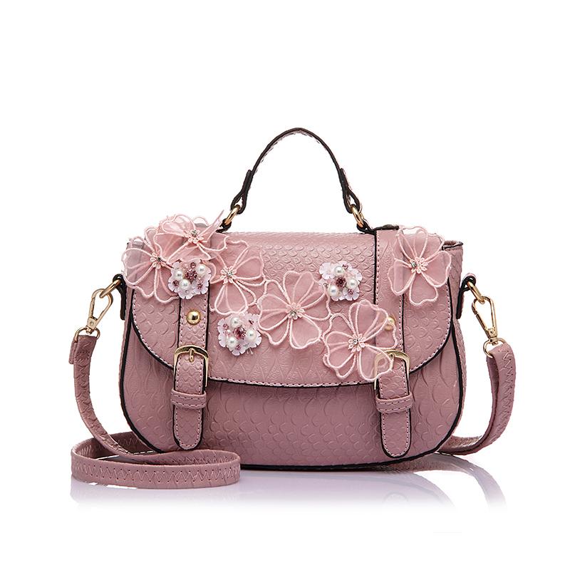 Women Famous Designer Style Handbag Fashion Ladies Messenger Crossbody Shoulder Bags With Floral ...