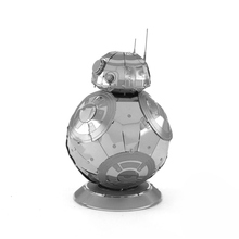 Buy 3D Metal Puzzles model toys children Adult Jigsaw BB 8 Robot metal puzzles educational puzzles 3d toys Desktop decoration for $4.20 in AliExpress store