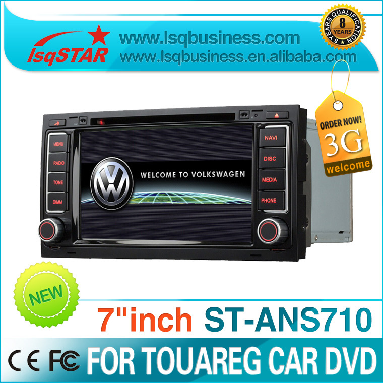 wholesale For Volkswagen Touareg 2005-2011, 2007-2012 Multivan (T5) Car dvd player with 3G, PIP, virtual 6 disc charger.(China (Mainland))