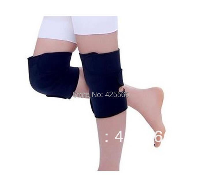 Free shipping hot selling  Tourmaline self heating kneepad Magnetic Therapy knee support tourmaline heating Belt knee Massager<br><br>Aliexpress