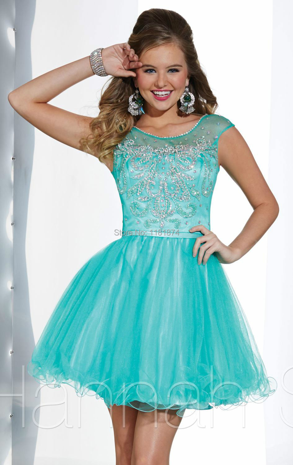 Beautiful Short White Prom Dresses | Dress images