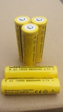 10X Pcs 18650 battery 3.7V 9900mAh Li-ion Rechargeable Battery for Flashlight Hot New 18650 3.7v