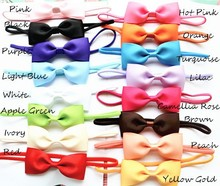 Buy 2.5inch Ranbow Colors Big Bows hair Children Ribbon Bowknot Baby hair accessories Newborn Infant Girls Bow Headbands 30pcs for $10.94 in AliExpress store