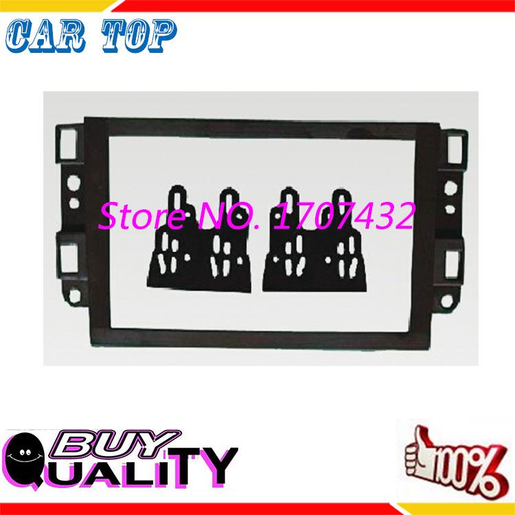 High quality new Car DVD Frame,Audio Fitting Adaptor,Dash Trim Kits,Facia Panel for Chevrolets Captiva/Lova/Gentra/AVEO/ Epica(China (Mainland))