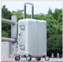 20 pollice in lega di magnesio alluminio trolley borsa da viaggio 24 pollice valigia 28 pollice di rotolamento dei bagagli in alluminio titanio(China (Mainland))