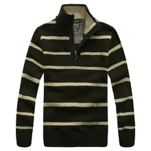2015 Time-limited Special Offer Pullovers Pull Imported Clothing Sueter Polo Sweater Male Zipper Thickening Long-sleeve Knitted (China (Mainland))