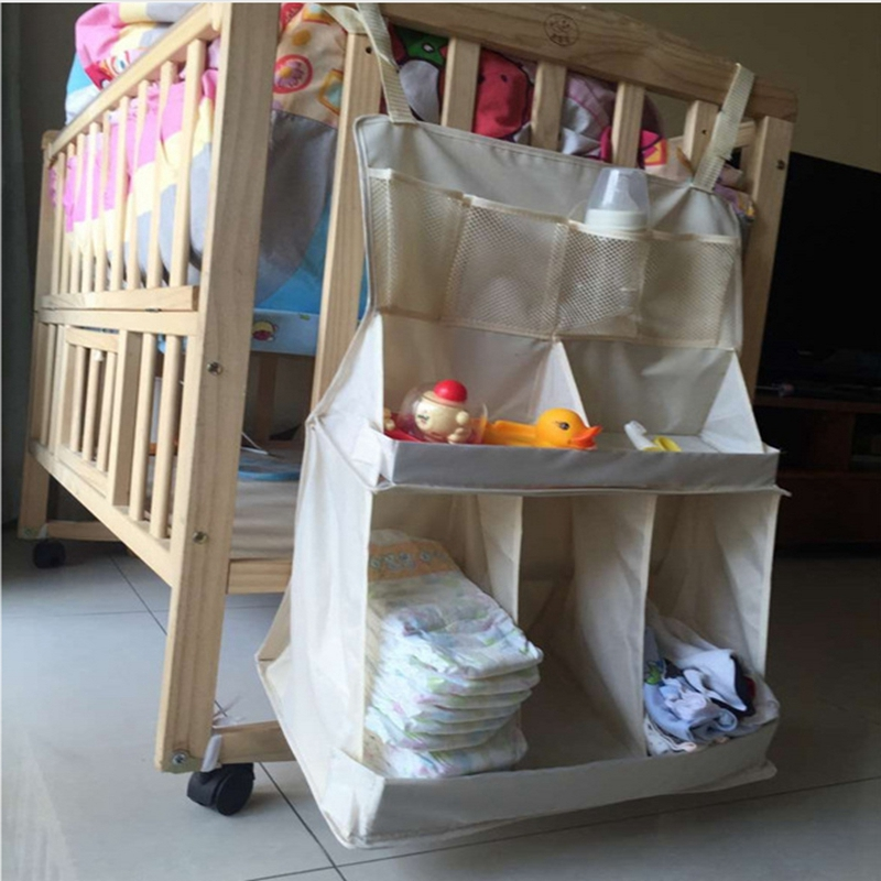 Baby Bed Hanging Bag Baby Bedding Set Carrying Bag Nylon Waterproof Newborn Baby Crib Accessories 63*48*25cm(China (Mainland))