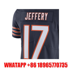 Men's Alshon Jeffery 17# Navy Color Rush Limited Free Shipping(China (Mainland))