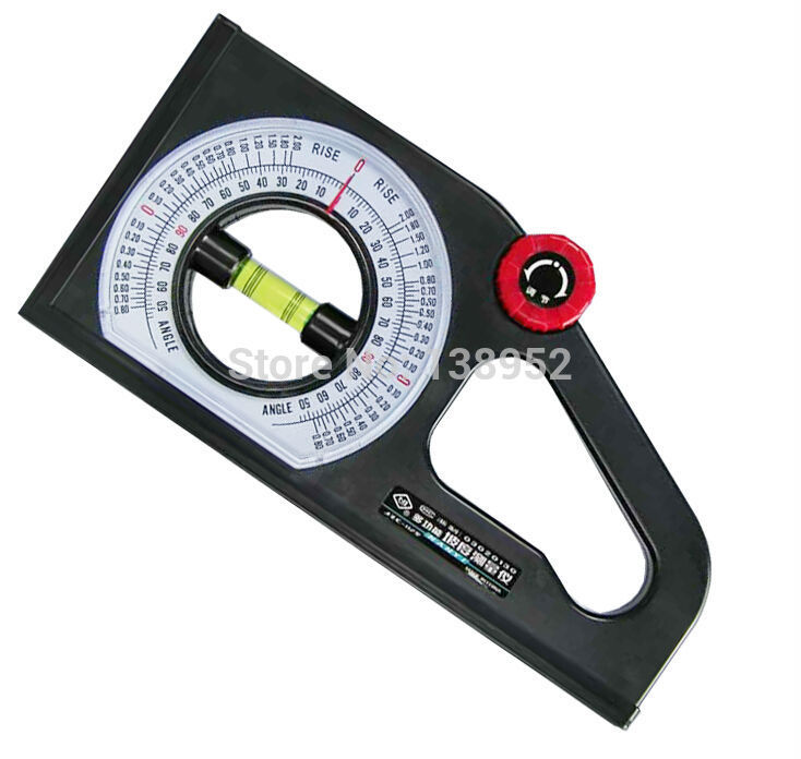 Magnetic Inclination Measuring Instrument For : Way spirit level gauge slope inclination measuring