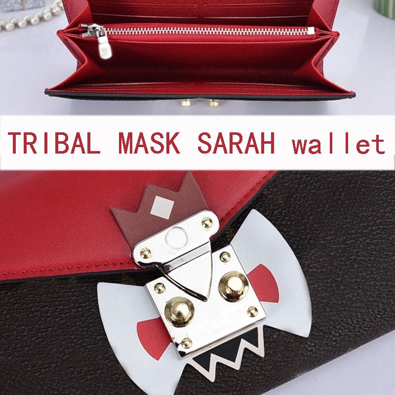 2015 new fashion brand purse Tribal Mask Chaine wallet M60796 M60797 Monogram Chain Bag EPI leather M60792 EMS free shipping(China (Mainland))