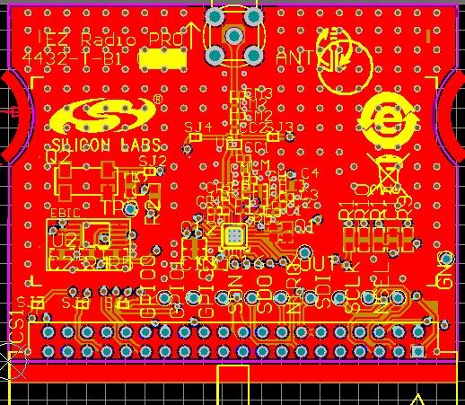 Si4010 wireless module driver code si4010 51 core si4010 source code Free Shipping(China (Mainland))