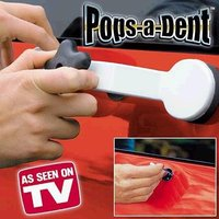 Free Shipping Pops a Dent & Dent Repair Removal Tool Car Kit Dent Glue Gun With OPP BAG As Seen On TV car care products