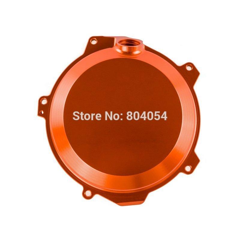 Orange CNC Billet Engine Outside Clutch Cover For Husqvarna FC FE 205/350 2014 2015