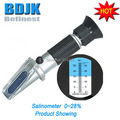 0 28 Portable Pen Salinometer with Gift Box and Clear Scale Free Shipping
