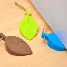 Удобный Силиконовый Листья Дизайн Стоп Двери Baby Safe Дверные Проемы Продукт Ухода За Ребенком(China (Mainland))
