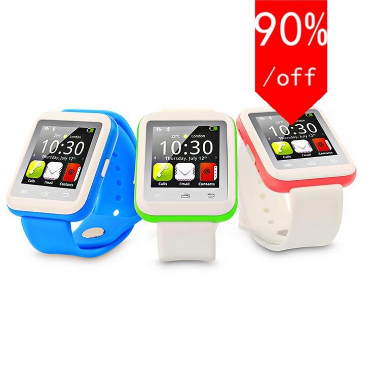 2017 new bluetooth Smart watch reloj inteligente wearable Wrist Watch for apple iPhone Samsung Android Phone pk u8 dz09(China (Mainland))
