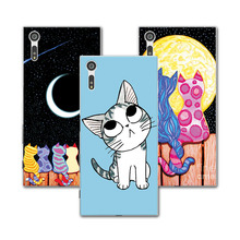 Buy Painted Dog Bear Cat Case funda Sony Xperia XZ F8331 Dual F8332 Case Cover Soft TPU Capa copue Sony XZ 5.2 inch+Gift for $1.35 in AliExpress store