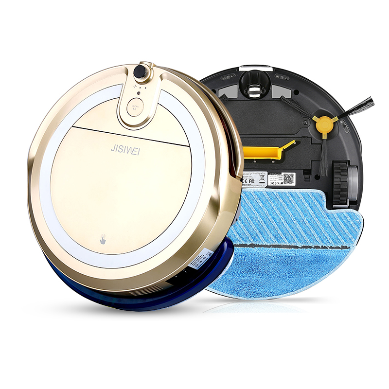 JISIWEI I3 Home Smart Vacuum Cleaning Robot With HD Camera APP Control Automatic Household Cleaner Robot Limpiador Floor Sweeper(China (Mainland))