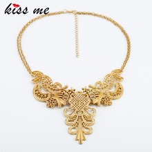 2013 Designer Jewelry Hot Selling Elegant Hollow Metal Pendant Necklace