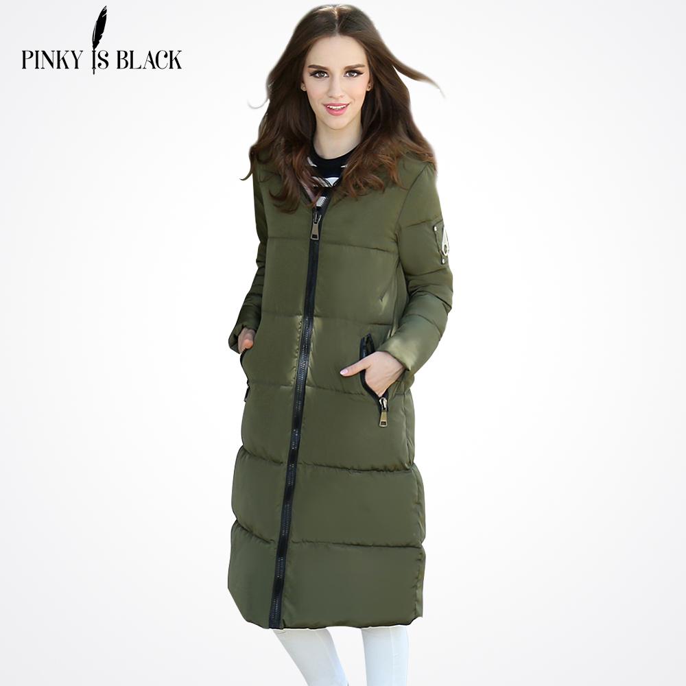 2016 Winter Jacket Women Plus Size Medium-long Cotton Down Jackets And Coats Ladies Hooded Parka Jackets Winter Coat Women(China (Mainland))