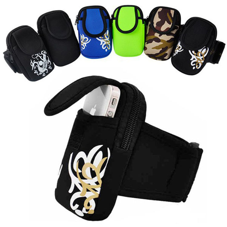 Cycling Sports Running Wrist Pouch cell Mobile Phone accessory Arm Bag Wallet Cover Case For Iphone 5/5S 18pcs/lot+free shipping(China (Mainland))