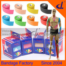 K tape 5cm x 5m (5 roll/Lot) Kintape  Kinesiology Tape Waterproof Muscle Tex For Basketball/Soccer/Tennis/Badminton(China (Mainland))