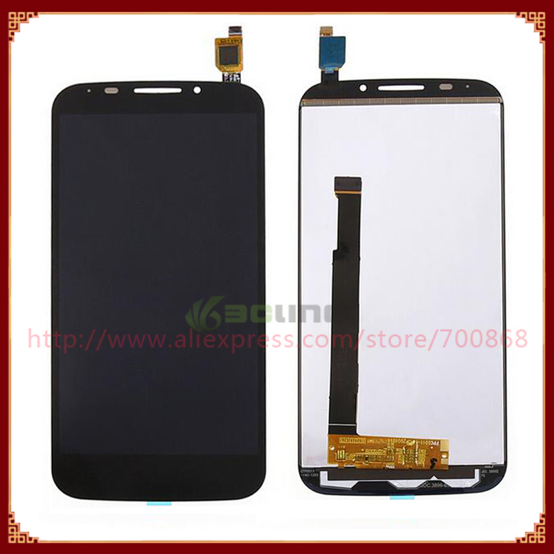 Alcatel POP S7 OT7045 7045Y LCD Display Screen Touch Digitizer Black/White - Topparts store