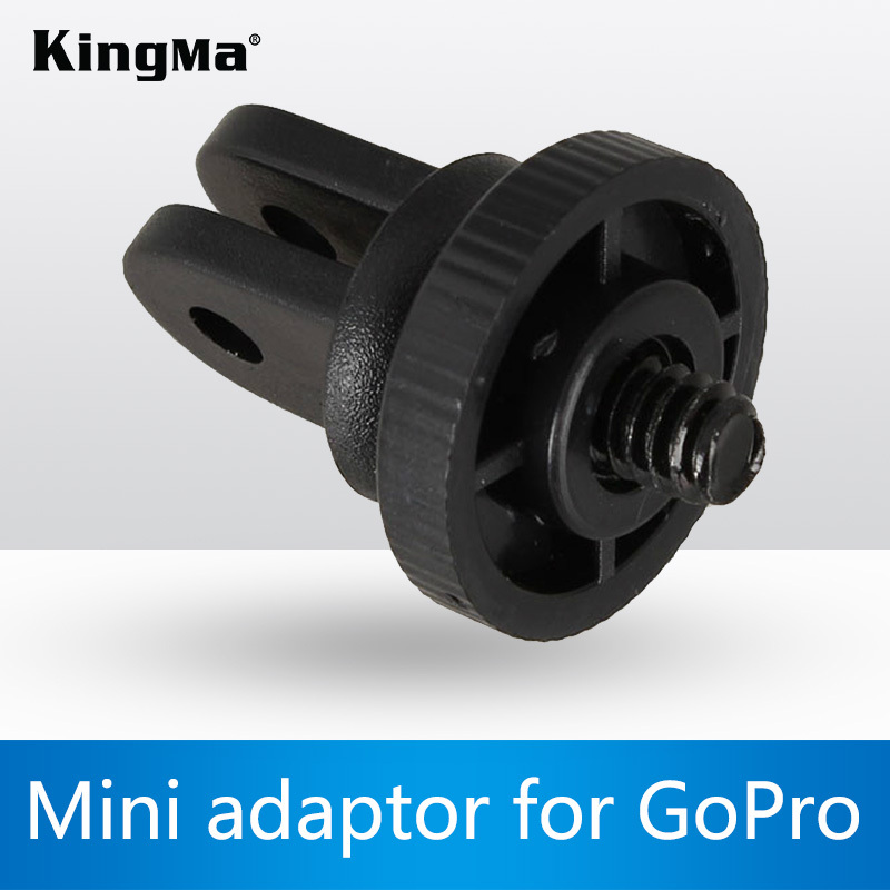 KingMa Mini Tripod Mount adapter screw for Gopro Hero Suction cup Hero 2 Hero 3 SJ4000 Camera accessories(China (Mainland))