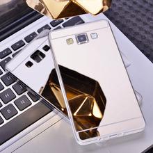 หรูหรากระจกเคสTpuปกหลังสำหรับS Amsung G Alaxy A3 A5 A7 2016 J3 J5 J7 S4 S5 S6 S7ขอบพลัสแกรนด์นายกรัฐมนตรีโทรศัพท์กรณี