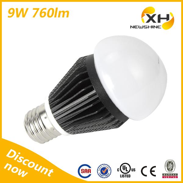 Hot Sale New Designed 9W COB LED Bulb High Power LED Lamp E27(China (Mainland))
