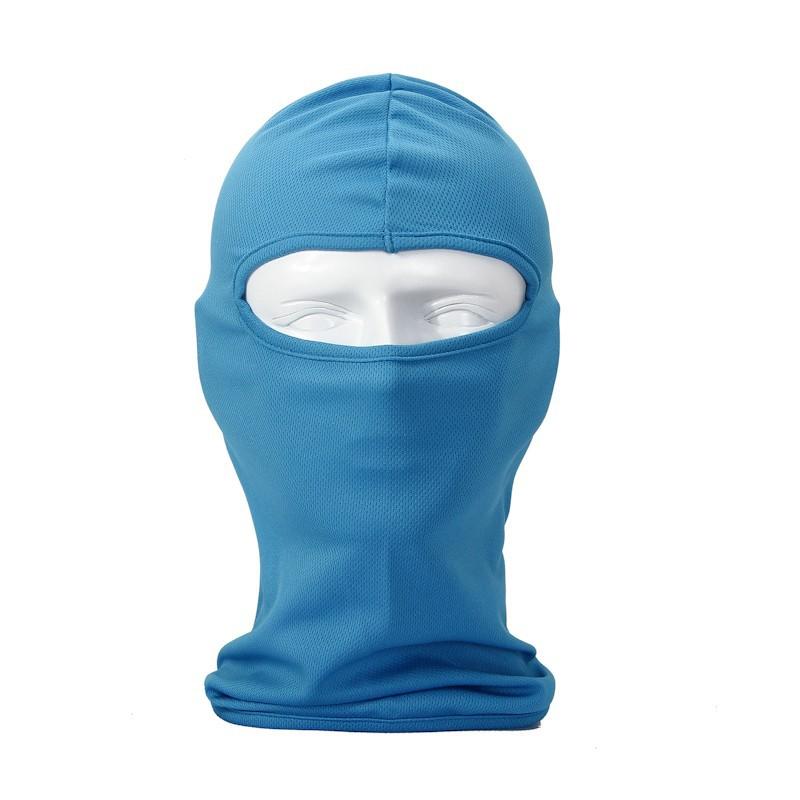 сетка ткань Балаклава дышащей спорта на открытом воздухе верхом лыжную маску тактические охота Обложка мотоцикла Велоспорт защищать полную лицевую маску