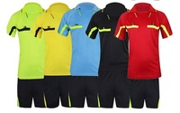 top thailand quality 2015 Jersey Soccer referee Judge uniform professional soccer referee clothing Football  referee Jersey