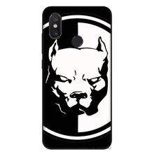 Cep xiaomi için telefon kılıfı mi MAX 3 6 8 A2 Lite A1 A2 5X 6X F1 9 SE SILIKON Kapak Pitbull Köpek çanta Kabuk Muhafaza(China)